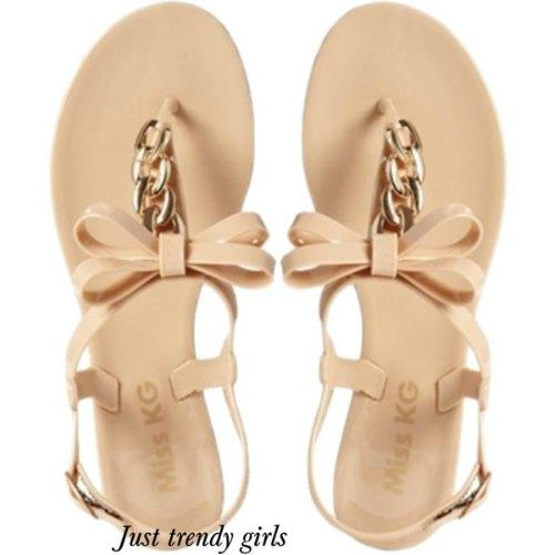 jelly flat sandals 13 s