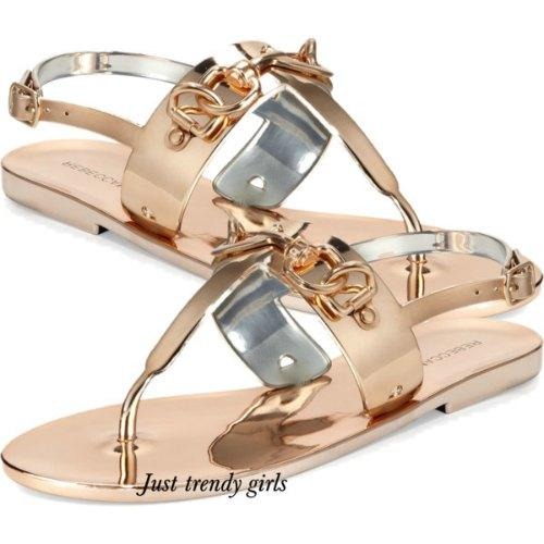 jelly flat sandals 2 s