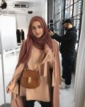 Winter stylish hijab collection