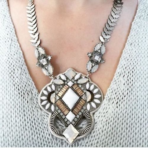 tribal bohemian necklace