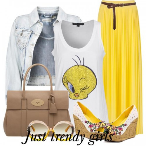 yellow tweety tee s