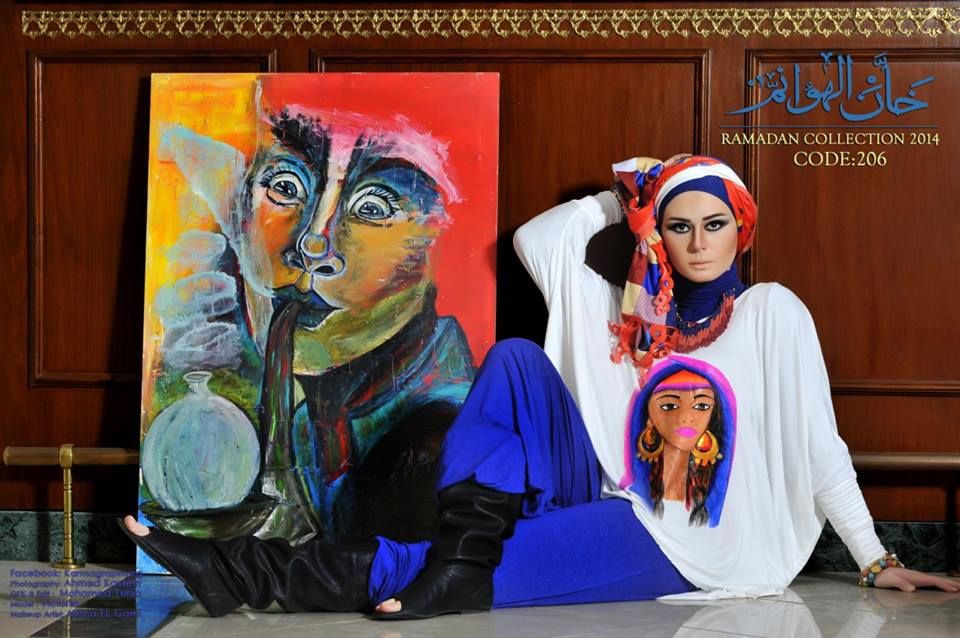Fashion hijab by Khan el Hawanem