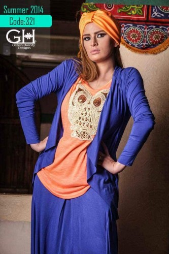 hijab fashion owl blouse s