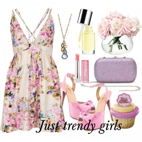 short dress in candy color 10 s