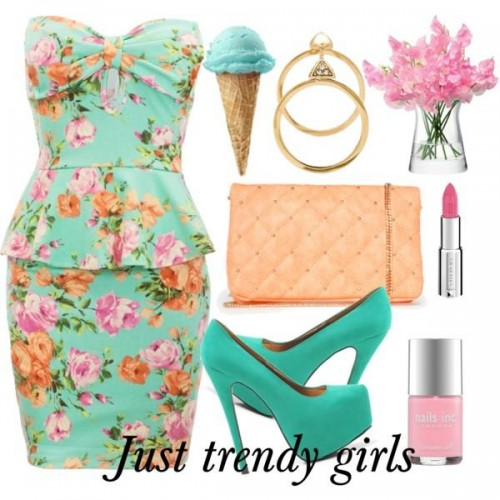 short dress in candy color 13 s