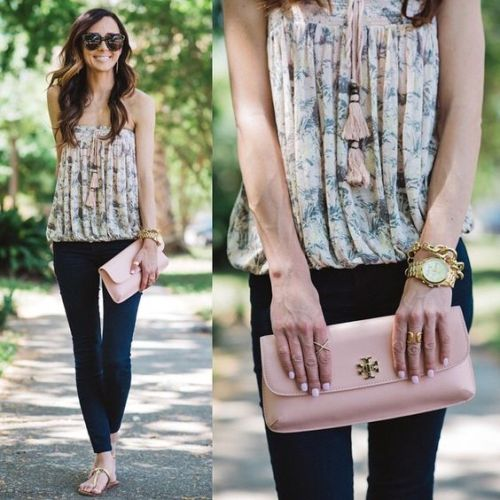 cute pastel blouse