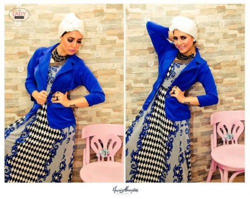 Mixing and matching hijab