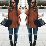 Easy weekend fall outfits