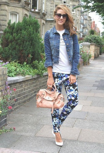 how to wear floral pants 11 s