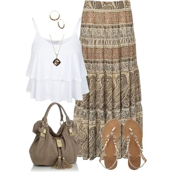 Bohemian easy style outfits u2013 Just Trendy Girls