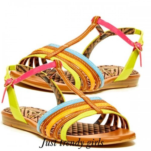 jessica simpson colorful sandals 1 s