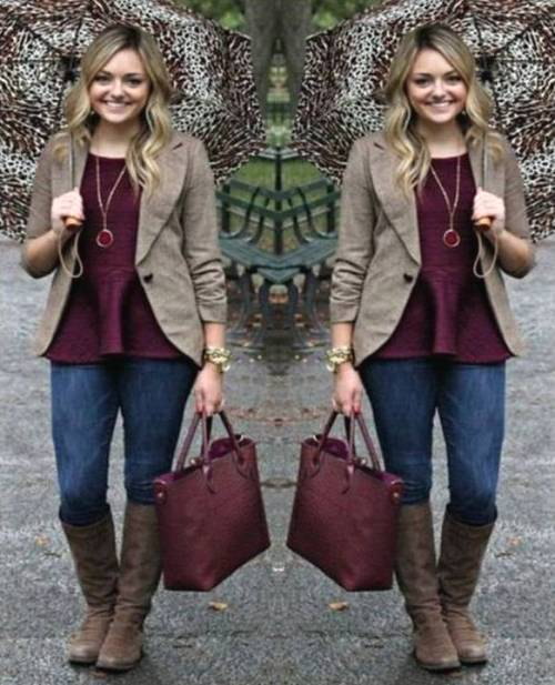 maroon-with-mocha-outfit