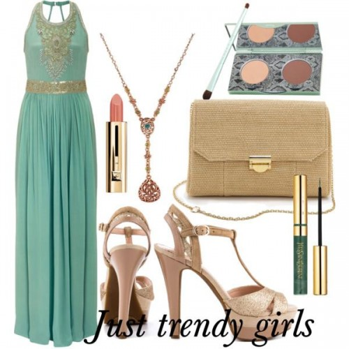 mint green dress s