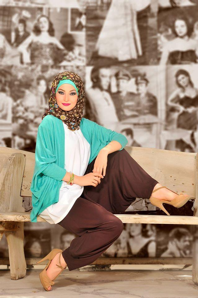 Miss venus casual hijab fashion