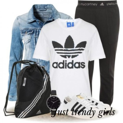 adidas sporty outfit