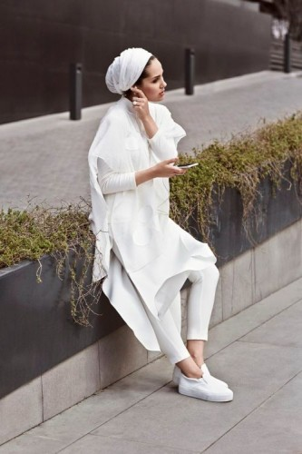 asia white outfit