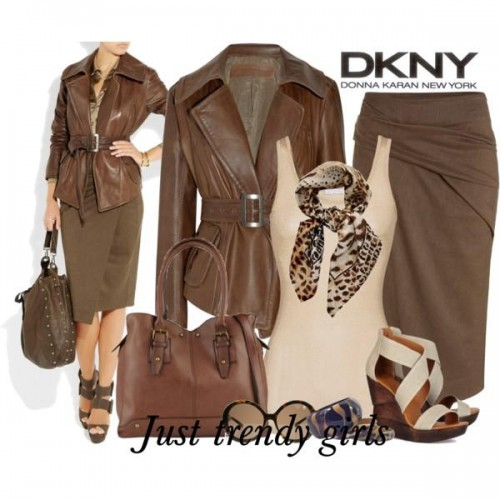 donna karan winter wear