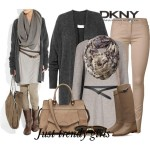 Winter fashion collection by Donna Karan