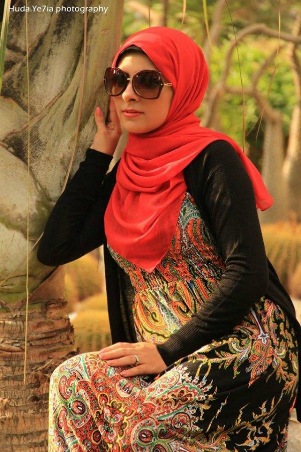 hijab-maxi-dress-10 Egyptian Hijab Ideas-20 Best Ways to Wear Egyptian Style Hijab