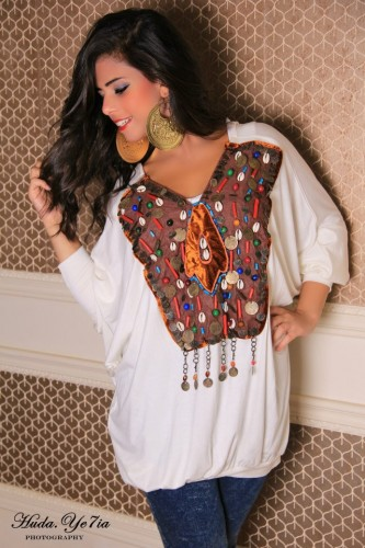 printed plus size blouse 12