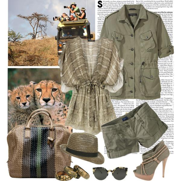 Safari Inspirational Outfits Just Trendy Girls