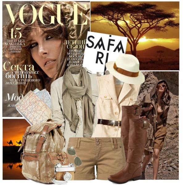 Safari inspirational outfits