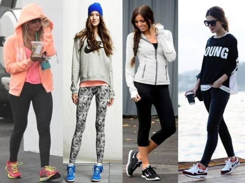 sporty casual looks