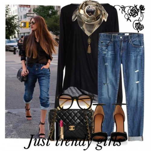 street fashion with chanel bags 3 d