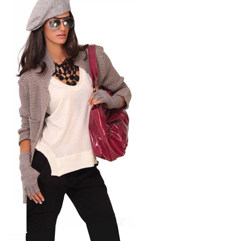 Stylish winter outfits for collage