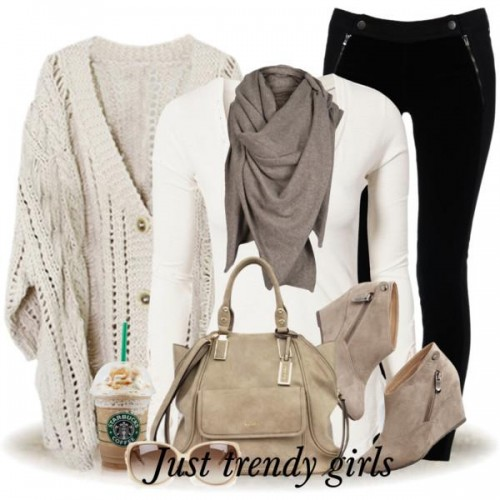 winter neutral outfit