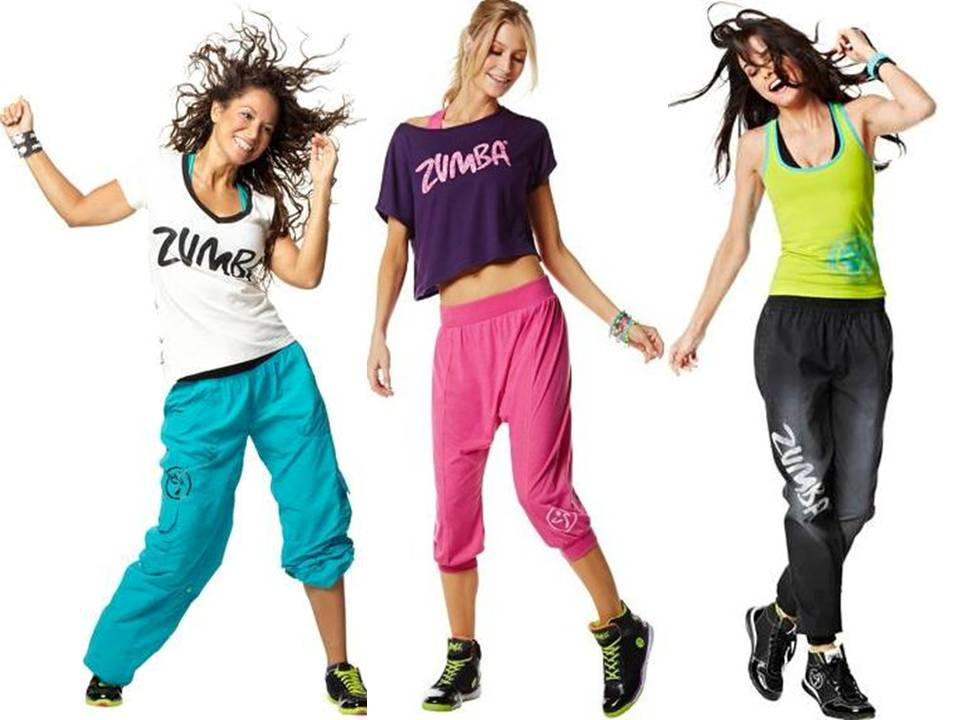 Zumba fitness fashion wear