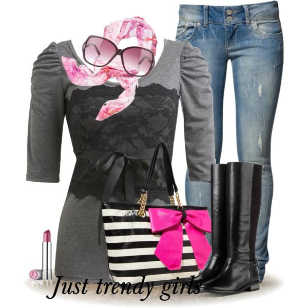 Breast Cancer Awareness Pink Outfits Just Trendy Girls