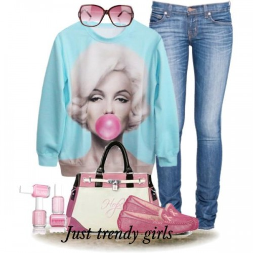 Fashionable Sweatshirt For Girls