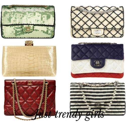 Chanel – bags 2015 Spring-Summer