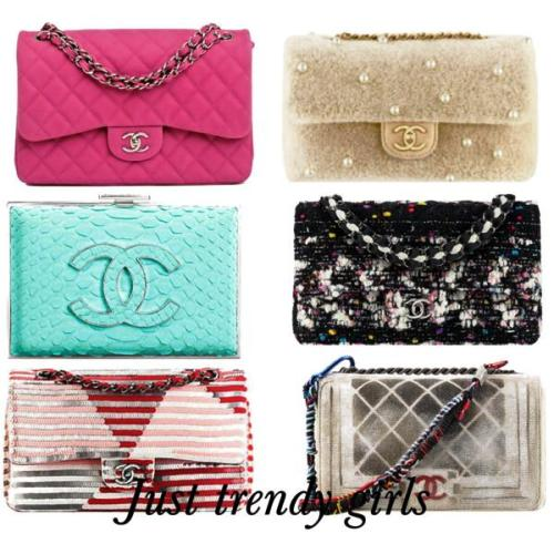 Chanel trendy clutches 2015