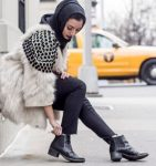 Hijabi clothing for winter 2017