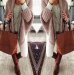 Sweater and cardigan trendy outfits