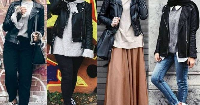 Winter Hijab fashion combinations
