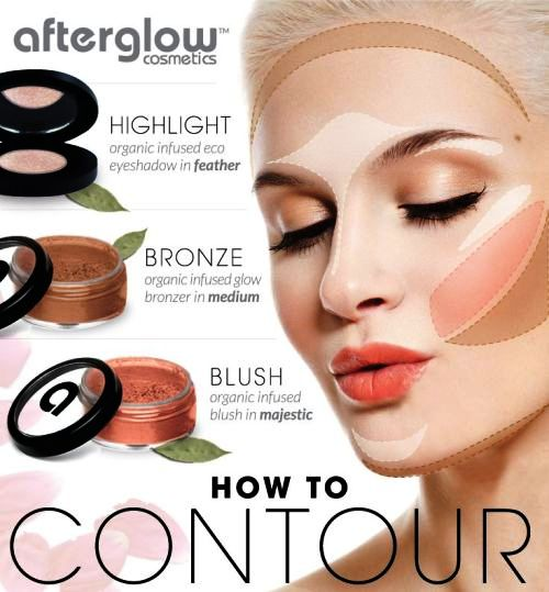 ... How to contouring and highlighting your face with makeup