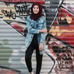 How to dress smart casual in winter with hijab