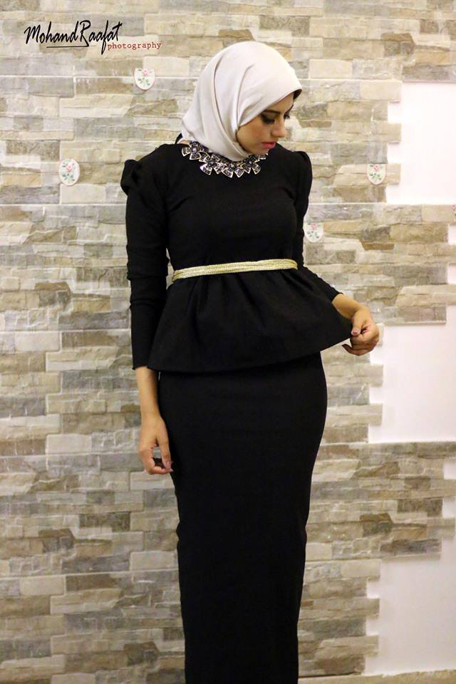 Soiree hijab dresses for small events u2013 Just Trendy Girls