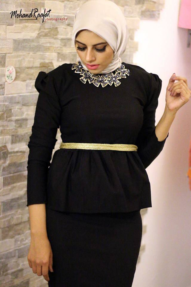 Galerry party dress hijab