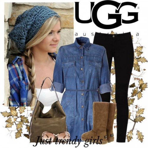 how to wear the ugg boots