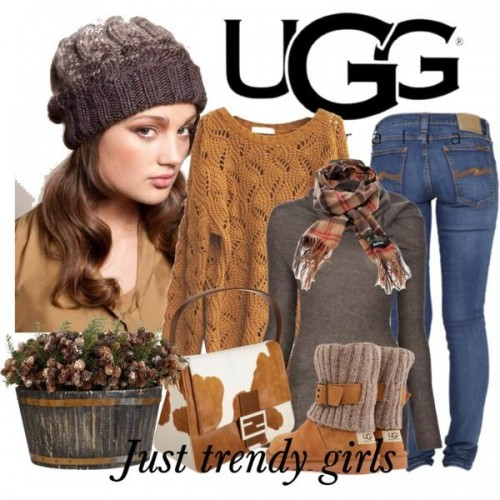 ugg knit wool boots