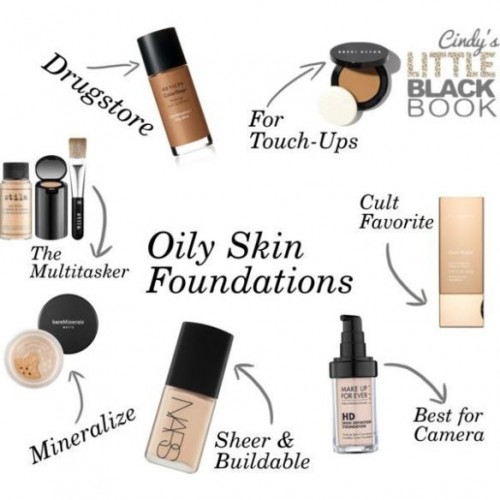 foundation for oily skin