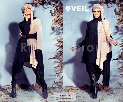Riham Farouk hijab for winter 2015