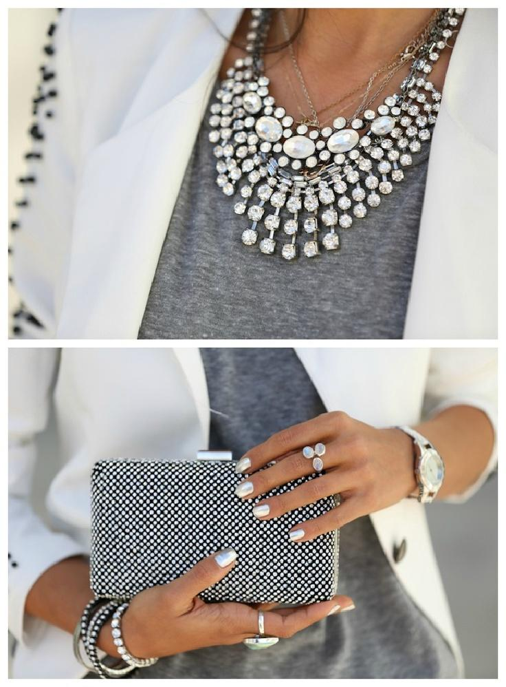 how to wear statement necklaces just trendy girls