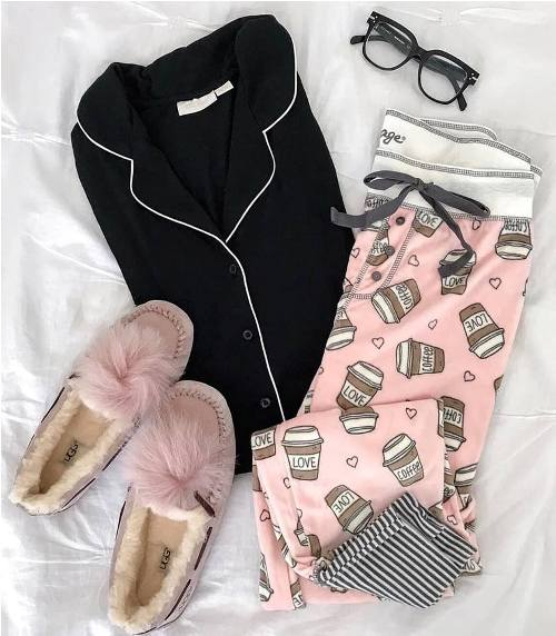 Girly Cute Pajamas Just Trendy Girls