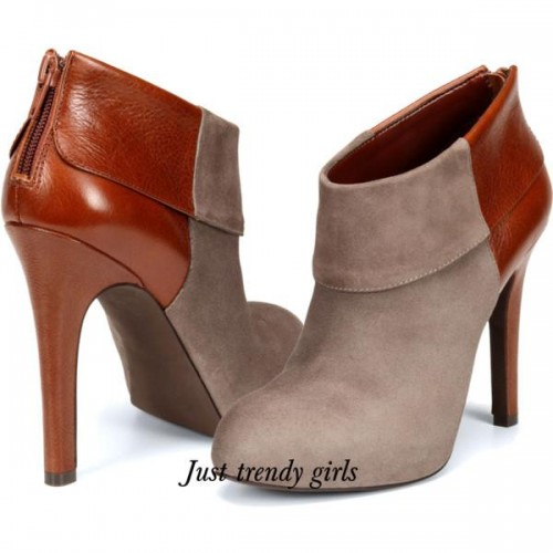 Jessica Simpson two tones boots