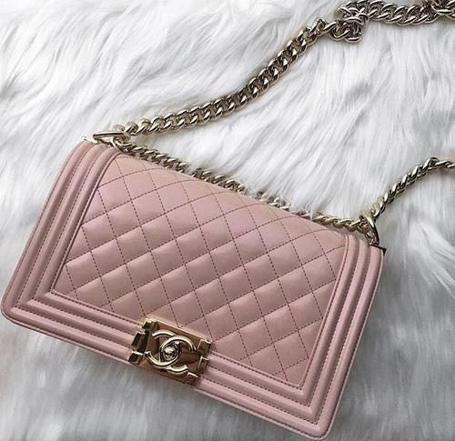 blush chanel bag,